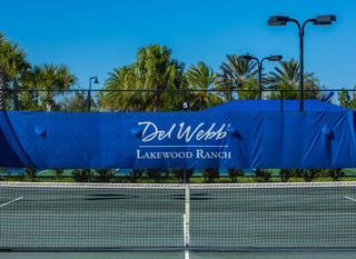 Mobile del webb tennis court logo pic 1
