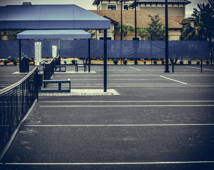 Normal tennis court 1