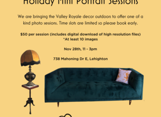 Mobile 30 min professional portrait sessions  2