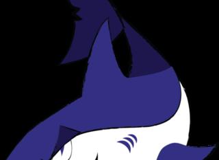 Mobile swim team shark logo