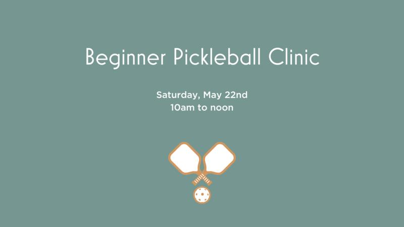 Normal beginner pickleball clinic