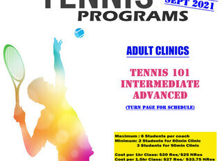 Mobile adult clinic flyer