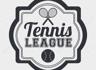 Mobile tennis league emblem