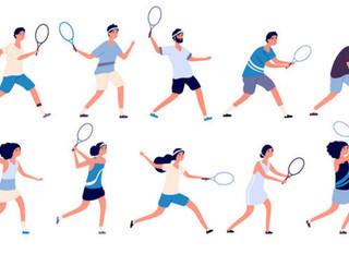 Mobile tennis mixer