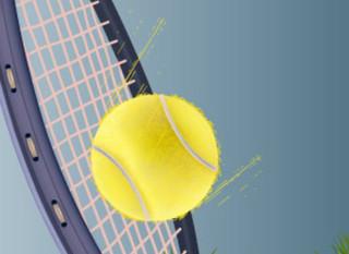 Mobile tennisshot