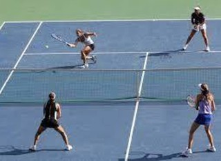 Mobile womens doubles