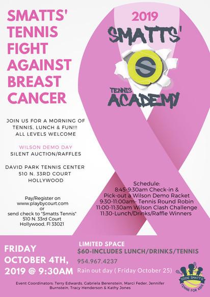 Normal pink ribbon breast cancer awareness poster 7