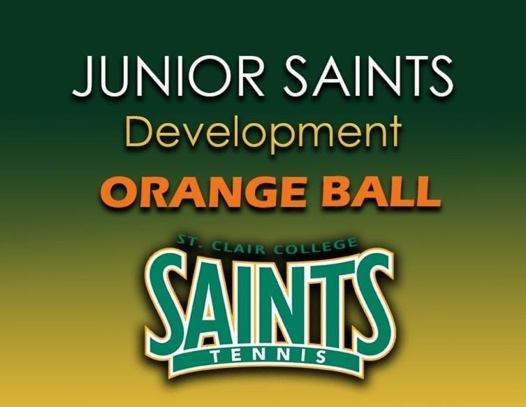 Normal green junior saints orange ball good graphic