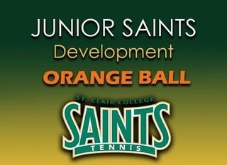 Mobile green junior saints orange ball good graphic