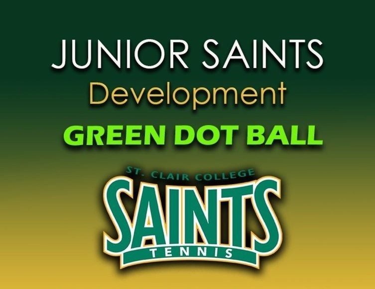 Normal green junior saints green dot  ball good graphic