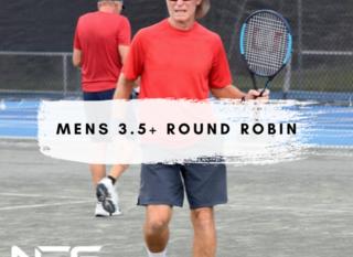 Mobile mens 3.5 plus round robin