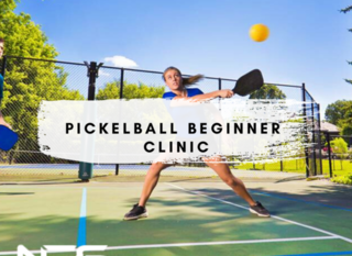Mobile pickellball beginer clinic