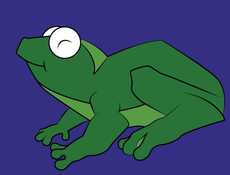 Normal frog